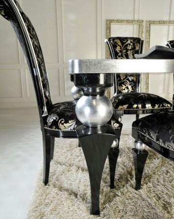Stół Glamour, czerń...