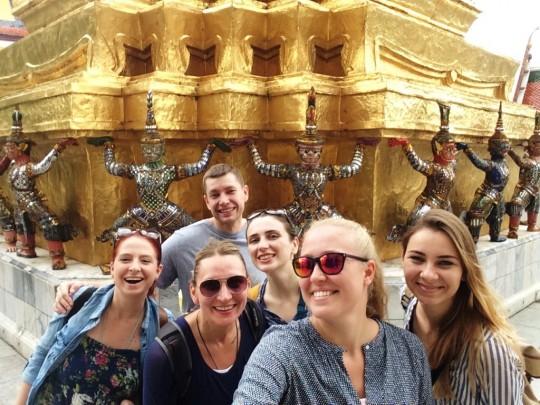 Grupowo w Pałacu...