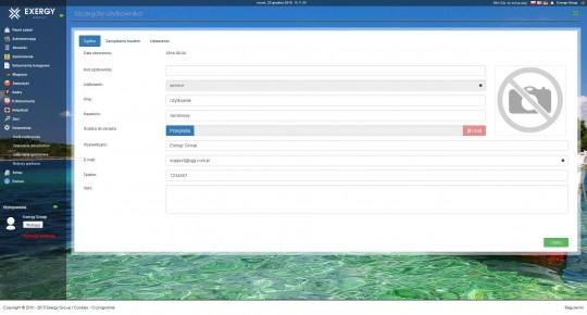 Exergy ERP - Profil...