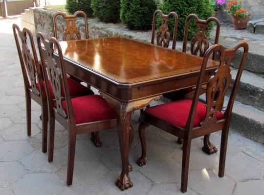 Stół i krzesła...