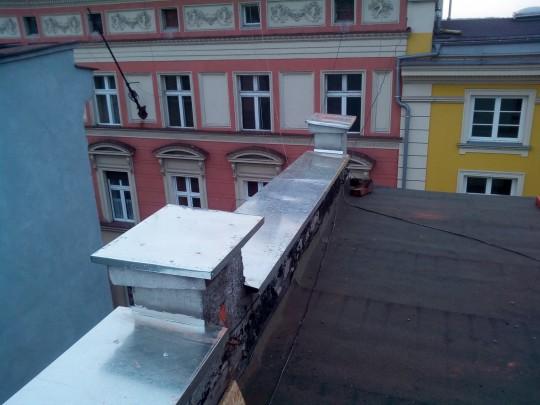 Uszczelniane dachu