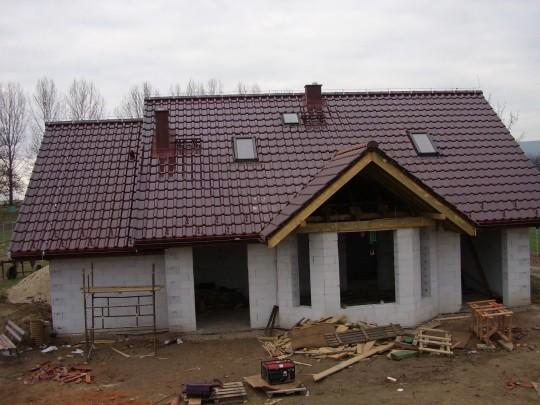 Krycie dachu...