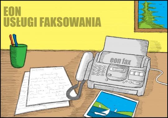 Fax, usługa...