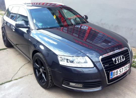 Audi po serwisie...