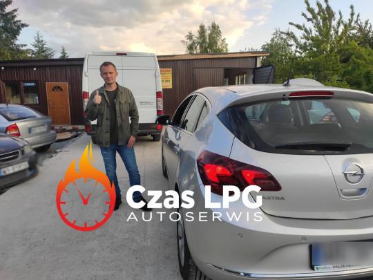 Montaż lpg Opel...