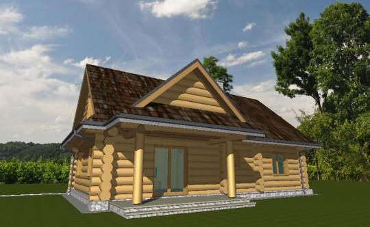 Projekt domku z...