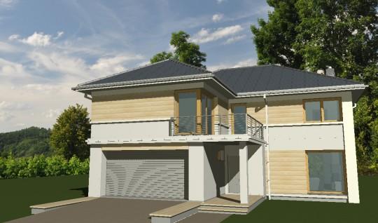 Projekt dużego domu...