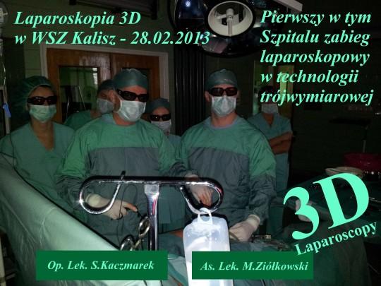 Laparoskopia 3D w...
