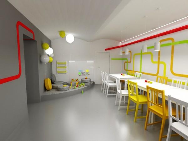 Projekt wnętrza - pizzeria margherita Białystok Olsztyn Elbląg i Suwałki – Arterior