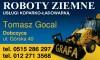 F.H.U. GRAFA  Tomasz Gocal - roboty ziemne Dobczyce