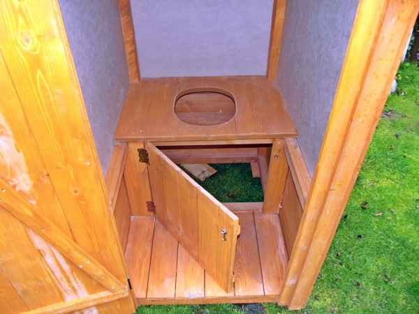 Chłodny 550zł - Toaleta drewniana na ogródki działkowe WC na działkę LJ89