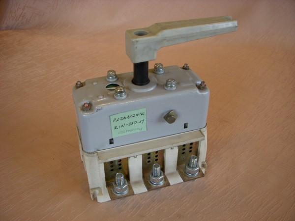 Ogromny Łącznik rozłącznik wyłącznik odłącznik ręczny ŁR, RiN, OZk, w VF25