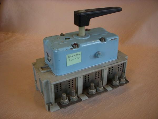 Groovy Łącznik rozłącznik wyłącznik odłącznik ręczny ŁR, RiN, OZk, w AK82